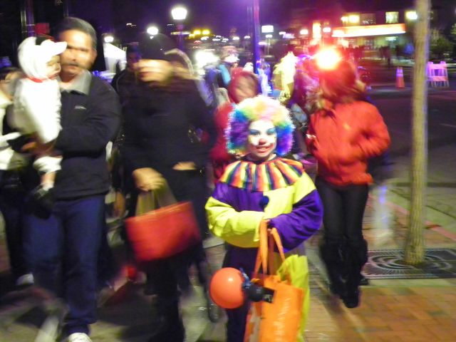 Clowns night out.