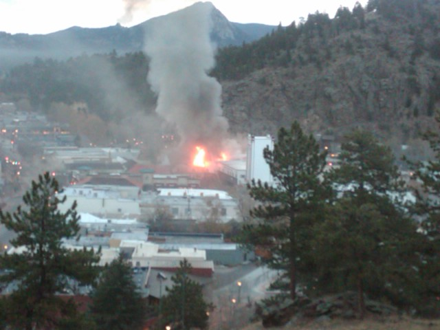 Park  Theatre Fire
