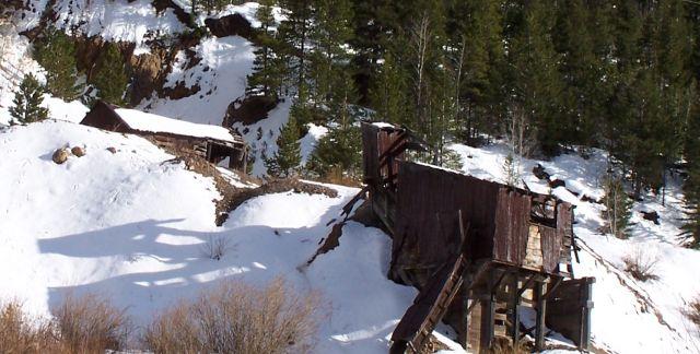 Old Gold Mine near Estes Park