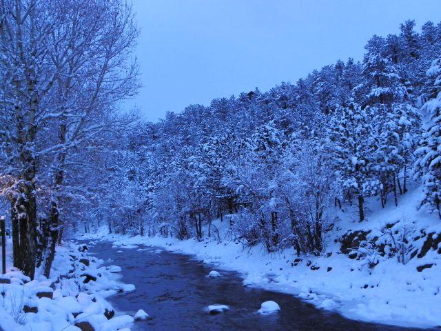 River Snow