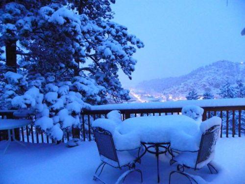Snow Patio Furniture