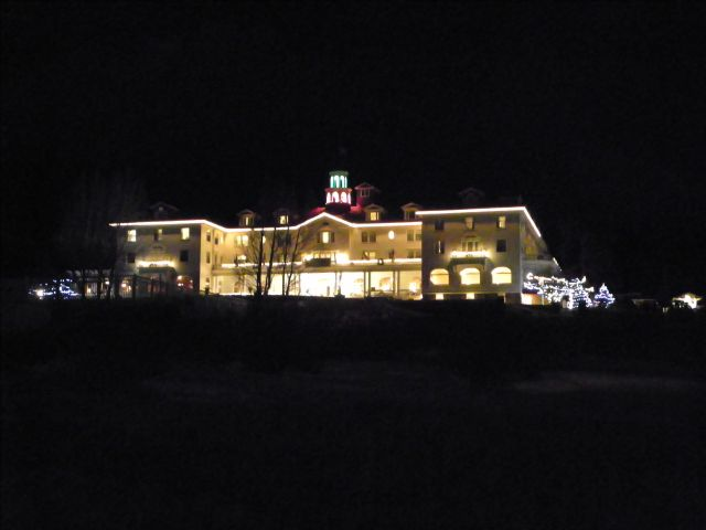 Stanley Hotel New Years Day Evening