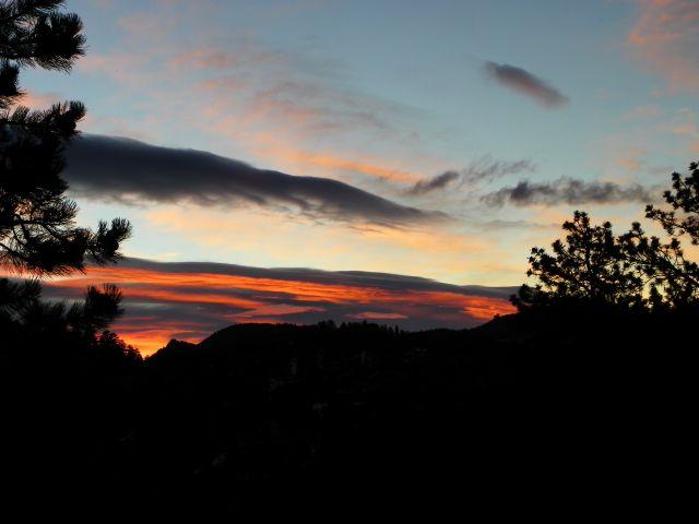 Estes Park Colorado Sunrise