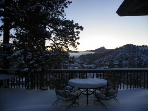 First Day of Spring Estes Park Colorado