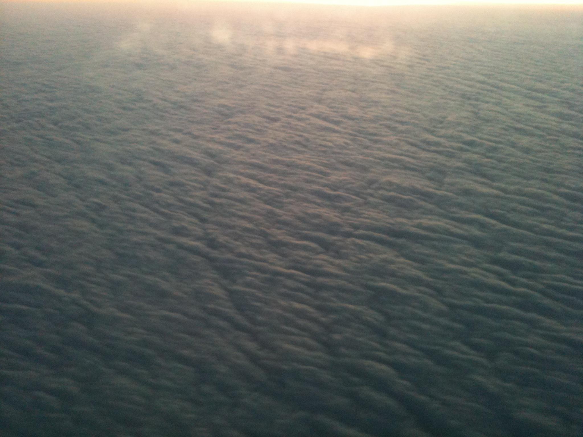 Blanket of Clouds over Texas