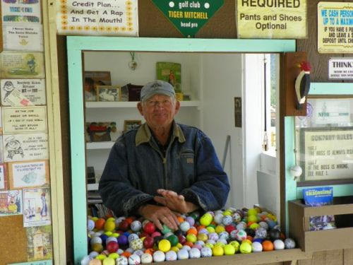 Bob Mitchell is still standing in the office at Tiny Town after 55 years