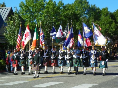 SCOTTISH IRISH FESTIVAL IN ESTES PARK COLORADO
