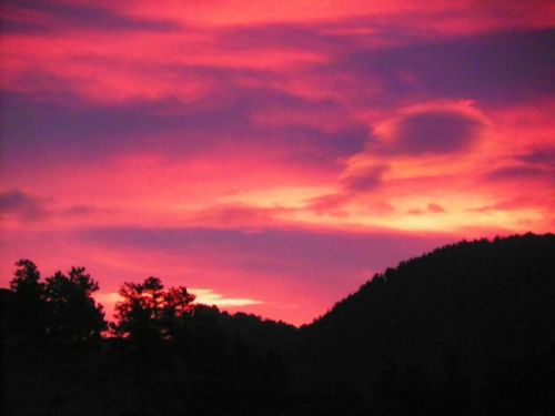 Estes Park Colorado Sunrise